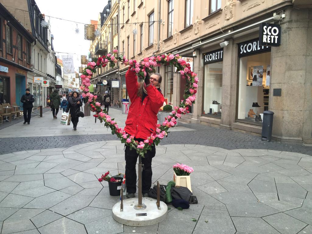 Hjärtan från Flora Linnea