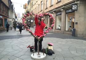 Alla Hjärtans Dag på Kullagatan